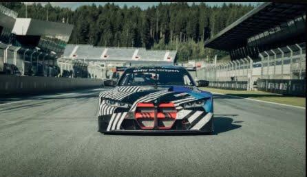 Nuevo BMW M4 2021: Coupe mostrado en camuflaje