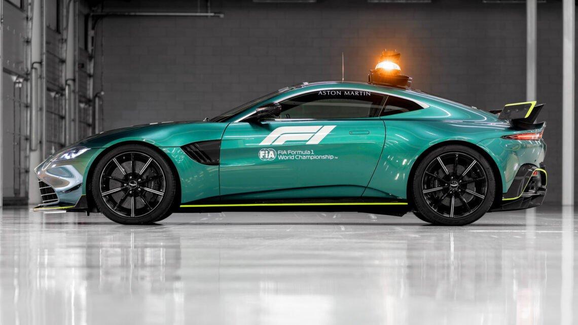 Aston Martin Vantage mejorado para F1