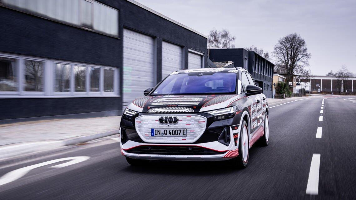 Audi Q4 E-Tron 2022 debutará con un head-up display