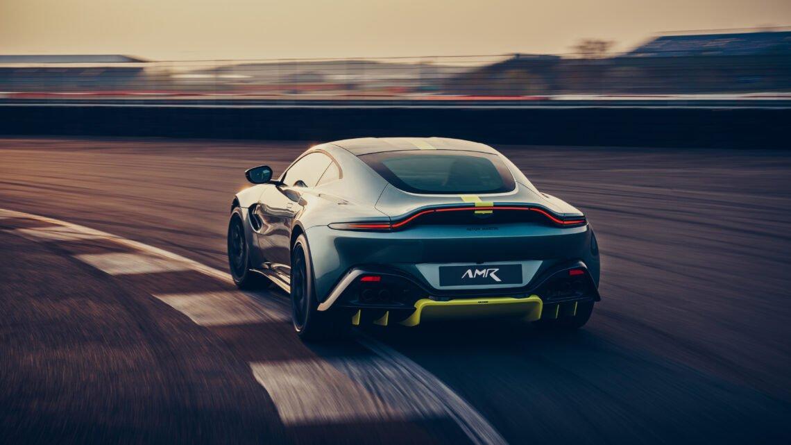 Futuros autos de gasolina de Aston Martin serán solo para la pista de carreras