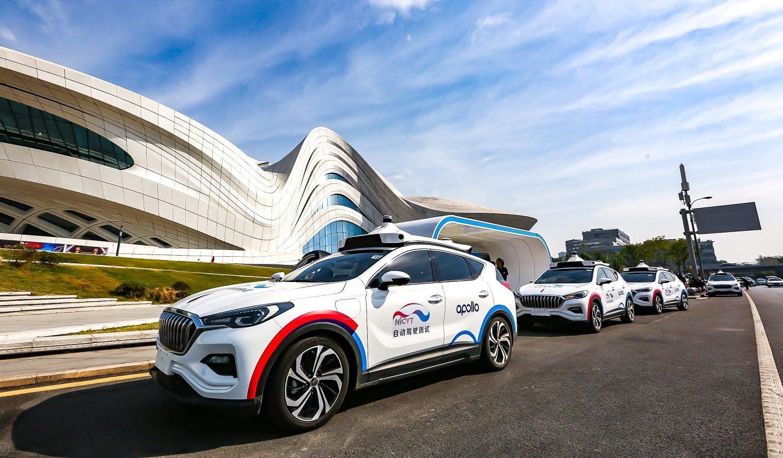 Baidu lanza el primer servicio de taxis sin conductor de China