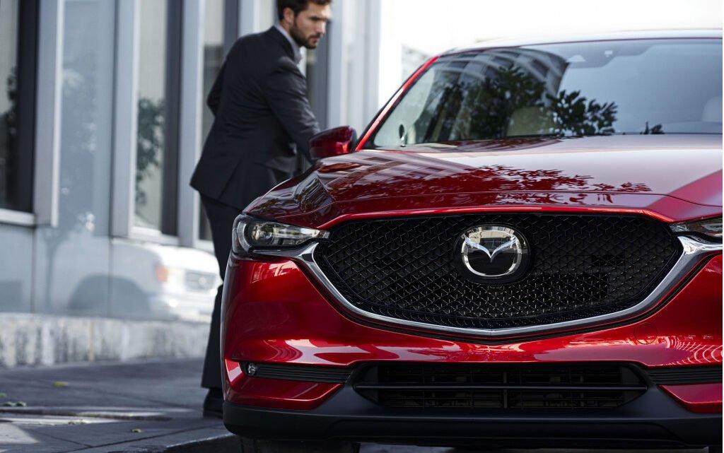 El primero de los nuevos Mazdas premium con tracción trasera se llamará CX-50