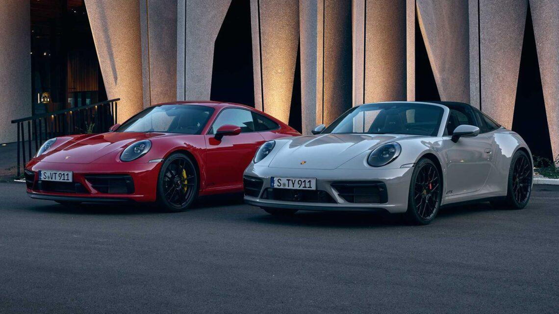 Porsche 911 GTS 2022