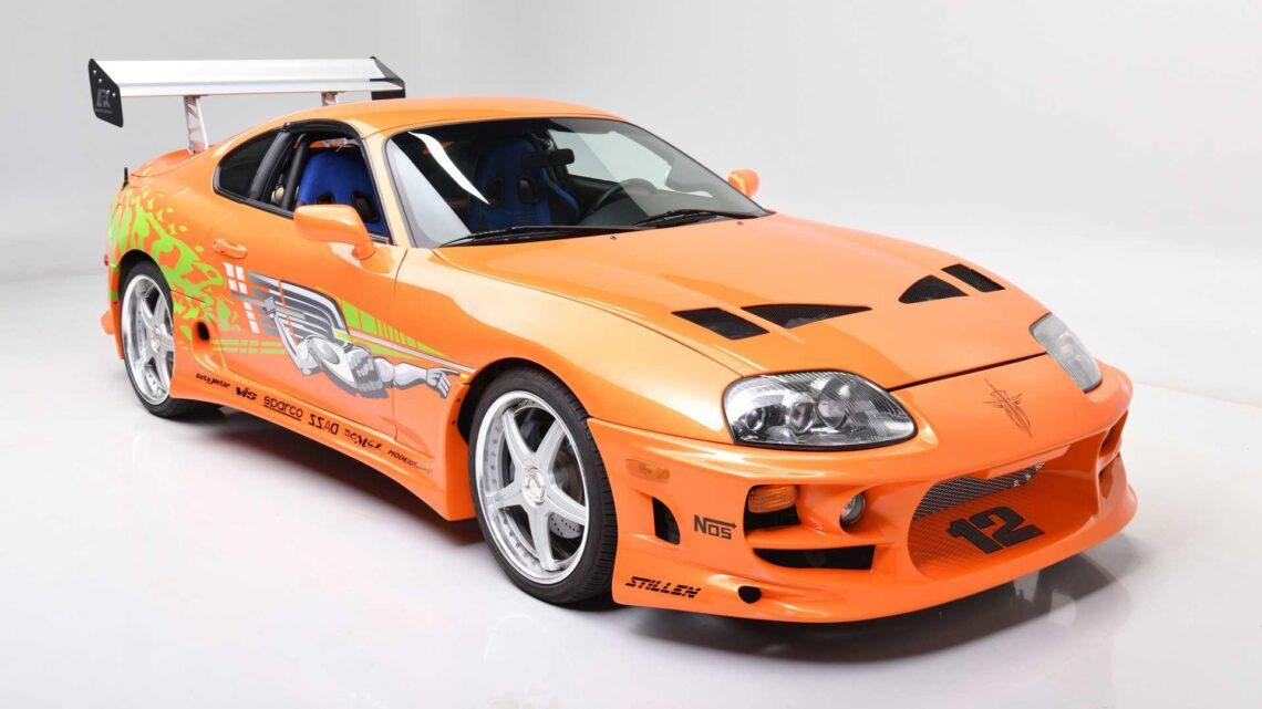 Toyota Supra 1994 conducido por Paul Walker en «Rápido y Furioso» vendido por $560.000