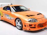 Toyota Supra 1994 conducido por Paul Walker en