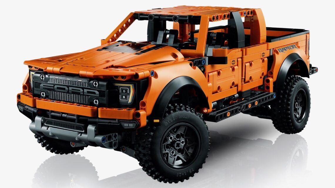 Ford F-150 Raptor 2021 modelo de Lego