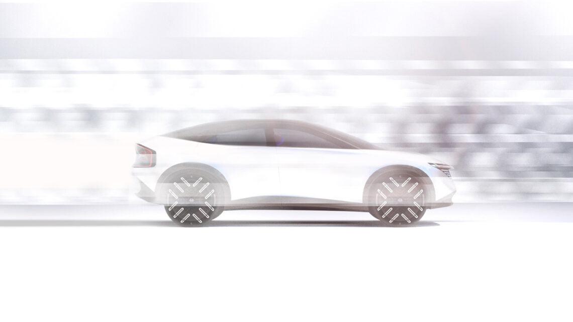Nissan dio un vistazo anticipado a su nuevo crossover eléctrico