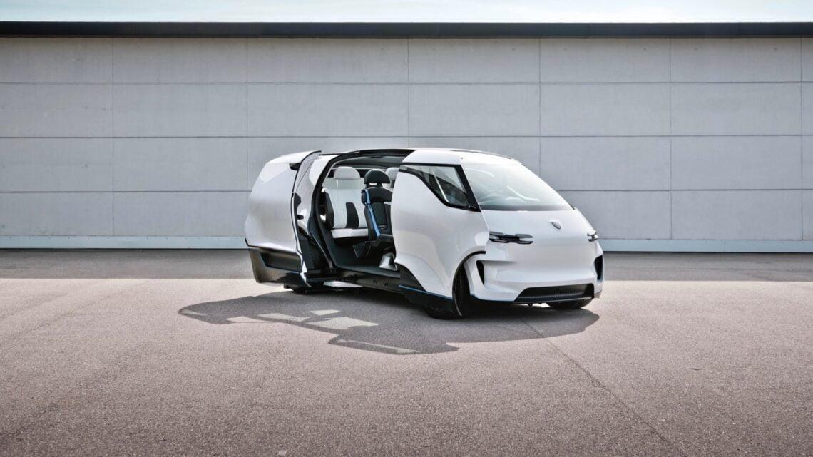 Porsche imagina un interior futurista