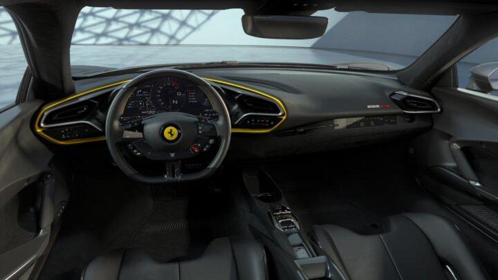 Ferrari patenta sistema de aire acondicionado avanzado