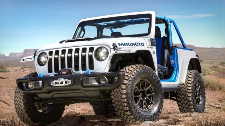 Jeep lanzará primer vehículo eléctrico en 2023