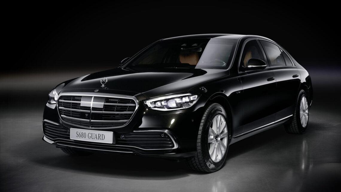 Mercedes-Benz S-Class Guard 2021
