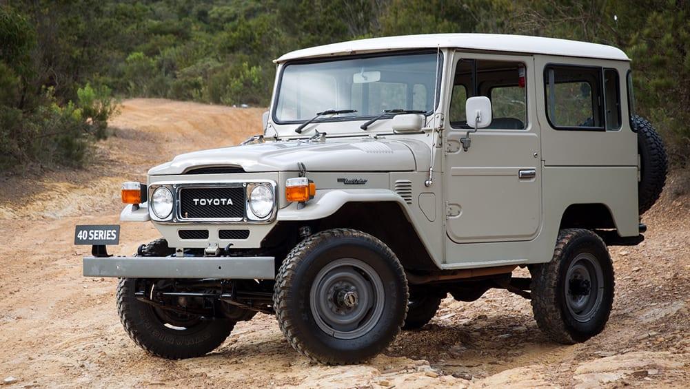 Toyota fabricará repuestos para el Land Cruiser Serie 40