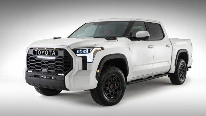 Toyota revela más de su rediseñada Tundra 2022