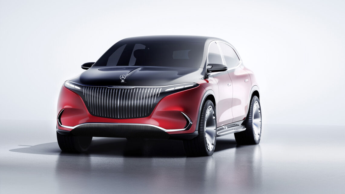 Concept Mercedes-Maybach EQS SUV