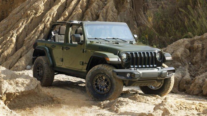 Jeep Wrangler Willys 2022