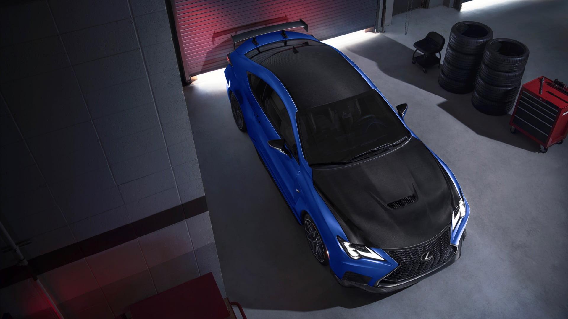 Lexus RC F Fuji