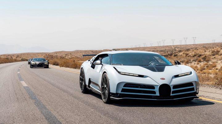 Bugatti Centodieci completa pruebas de clima cálido
